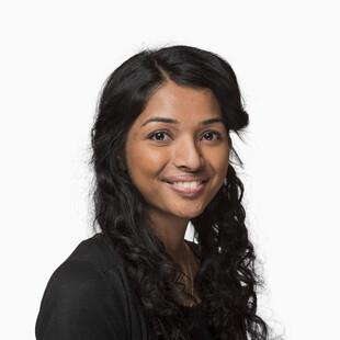 A photograph of the author, Kalaiyashni Puvanendran.
