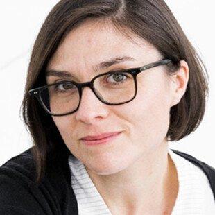 A photograph of the author, Gemma Buckland Merrett.