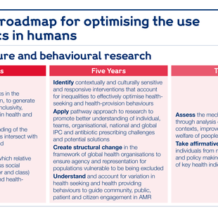 Research roadmap for context, culture and behavioural research.