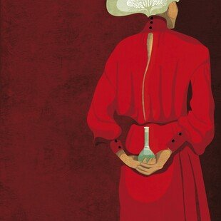 One of the winning images for the 2017 Wellcome Image Awards. A digital illustration of Italian neurobiologist and Nobel Prize recipient Rita Levi-Montalcini by Daria Kirpach.