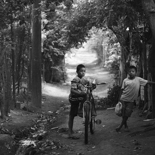 One of the winning images for the 2017 Wellcome Image Awards. A photograph of two young boys in rural Nicaragua by Joshua Mcdonald.