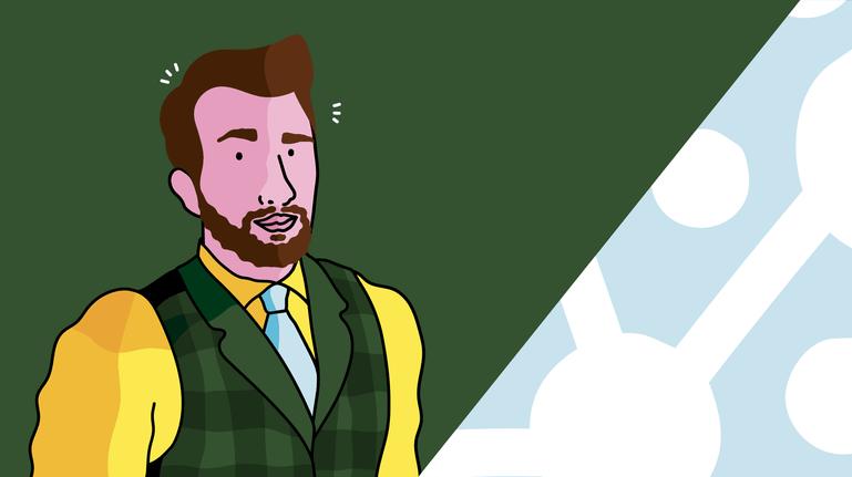 Illustration of Ben Britton