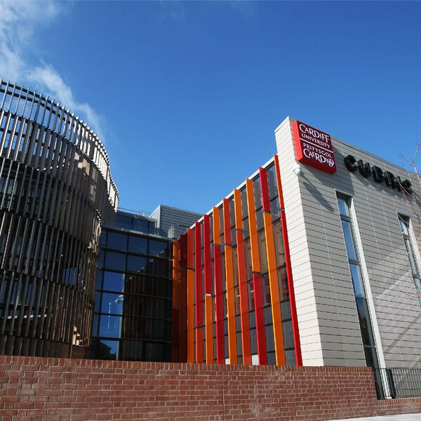 Exterior of Cardiff brain research imaging centre