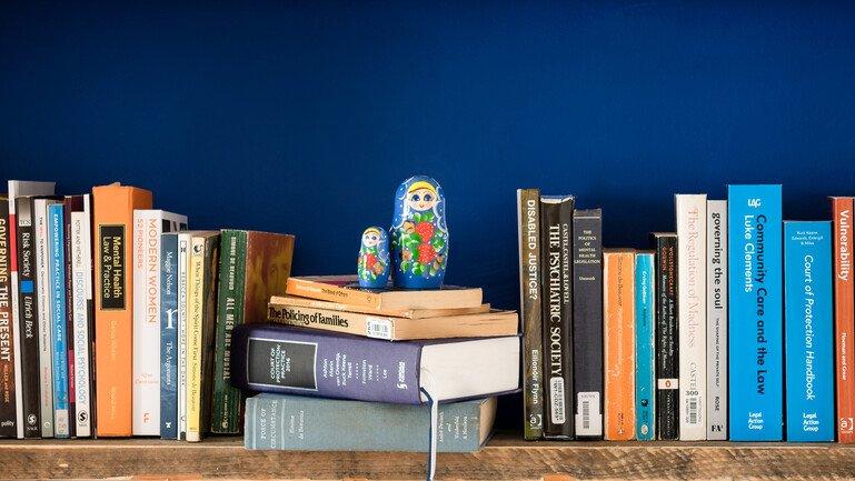 Books of shelves