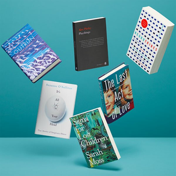 The shortlisted titles for the 2016 Wellcome Book Prize.
