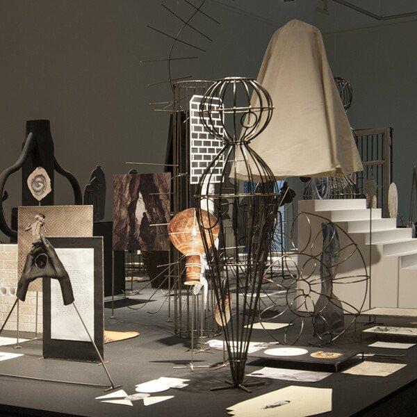Installation view of 'Asylum' at Kunsthalle Baden-Baden, 2014