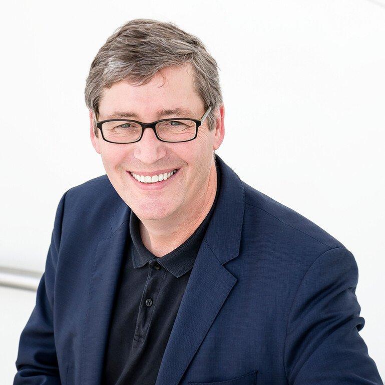 Steve Caddick, Wellcome's Director of Innovation