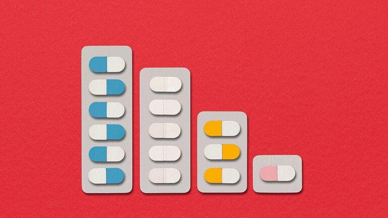 An illustration of pills.