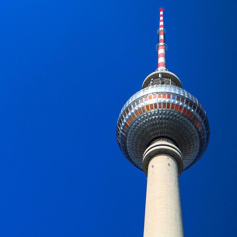 The Fernsehturm, Alexanderplatz, Berlin
